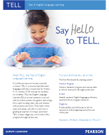 Learn More about TELL
