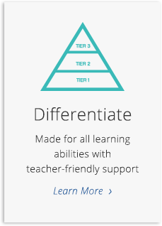 Made for all learning abilities with teacher-friendly support