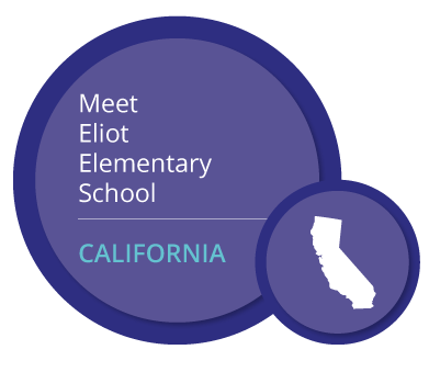 Meet Eliot Elementary School. CALIFORNIA