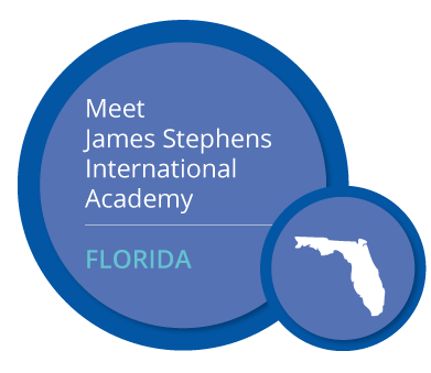 Meet James Stephens International Academy. FLORIDA