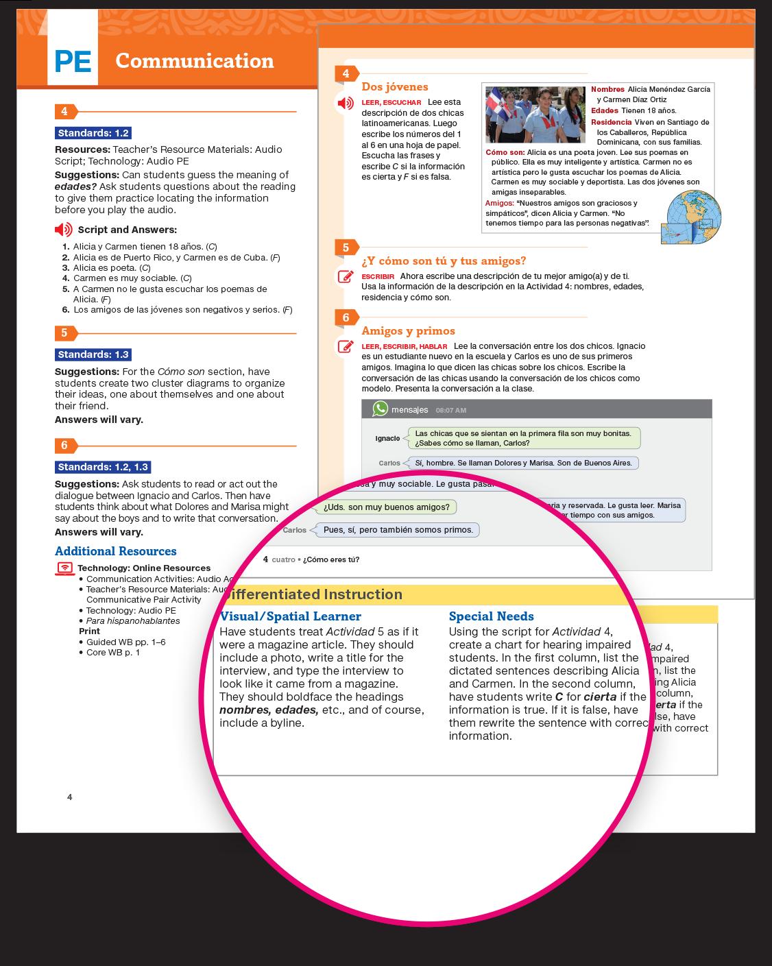 Auténtico Spanish Program | Pearson Middle and High School Spanish ...