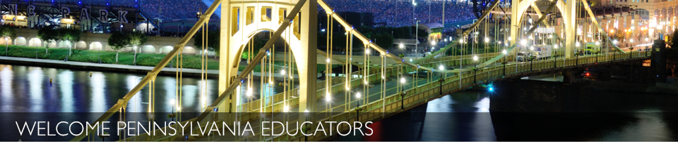 Welcome Pennsylvania Educators
