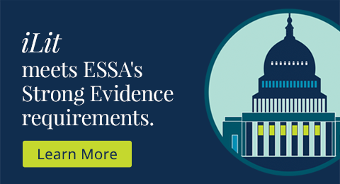 iLit meets ESSA's Strong Evidence requirements.
