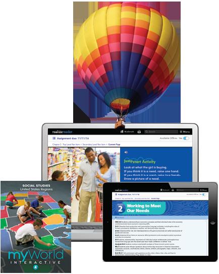myWorld Interactive Social Studies Program | Pearson K-8