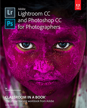 Lightroom CC and Photoshop CC for Photographers book cover