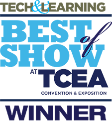 Tech & Learning Best of Show at TCEA Convention & Exposition Winner