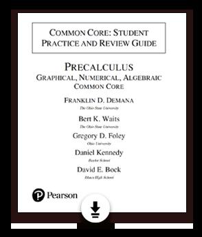 Math Programs   Pearson   Demana, Waits, Foley, Kennedy