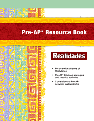 Realidades Spanish Program   Pearson Elementary and Middle