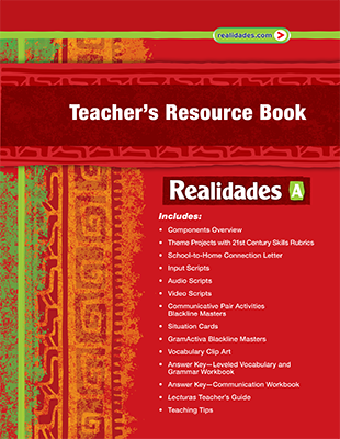 Realidades spanish program pearson elementary and middle school these updated resource books provide a detailed overview of the program components and ways to integrate both print and digital resources with daily fandeluxe Choice Image