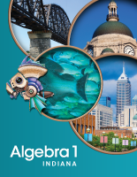 Pearson Algebra 1, Geometry, Algebra 2 for Indiana