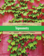 Lial, Hornsby, Schneider, Trigonometry, 10th Edition