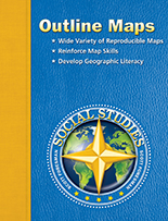 This Comprehensive Collection Of Reproducible Outline Maps For Lessons Transparencies And Student Reports Reinforces Geographic Concepts And Map And Globe