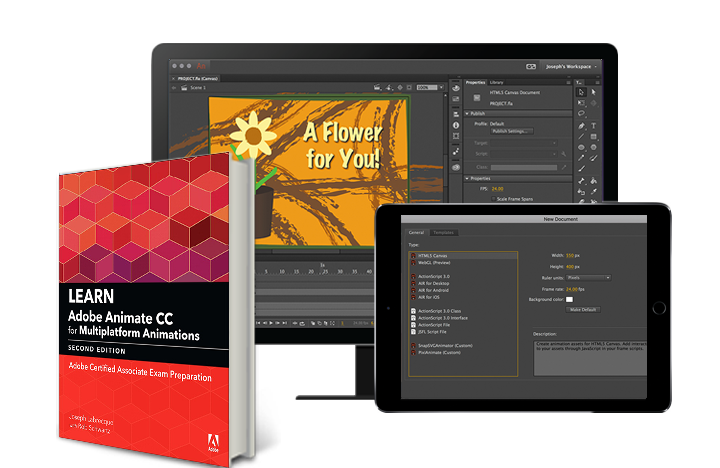 Learn Adobe Animate CC for Multiplatform Animations