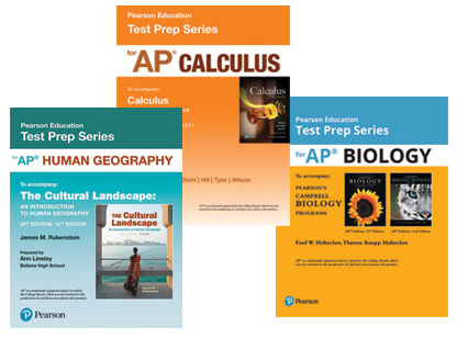 Pearson Education Test Prep Series for AP®