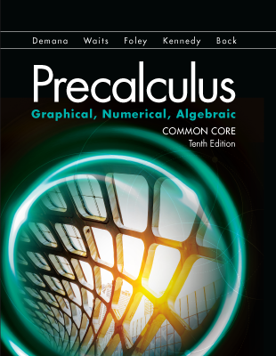 Math Programs | Pearson | Calculus: Graphical, Numerical