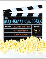 Miller, Heeren, Hornsby, Mathematical Ideas, 12th Edition