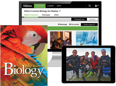 Science Programs | Pearson | Miller and Levine Biology