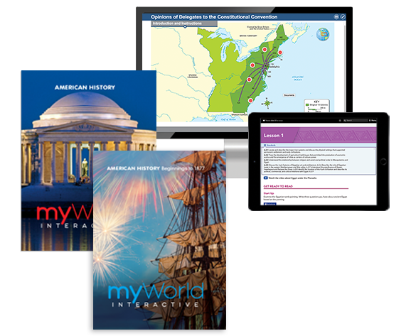 Social Studies Programs | Pearson | myWorld Interactive