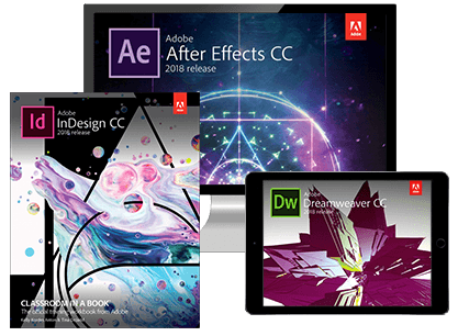 Adobe Classroom in a Book Series (2018 Release)