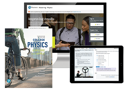Etkina et al., College Physics: Explore and Apply AP Edition, 2nd Edition ©2019 with Mastering Physics with Pearson eText