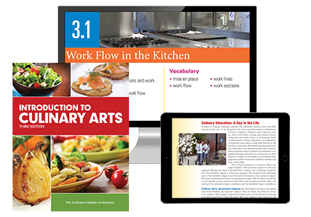 Introduction to Culinary Arts, Third Edition