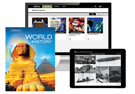 World history program pearson high school social studies curriculum world history grade 9 12 fandeluxe Image collections